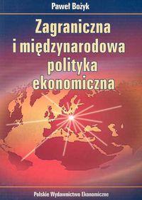 Zagraniczna i międzynarodowa polityka ekonomiczna